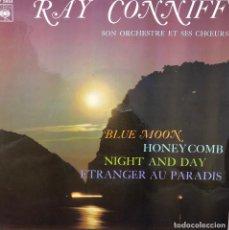 Discos de vinilo: RAY CONNIFF ORQUESTA Y COROS, EP A 45 RPM. Lote 196381305
