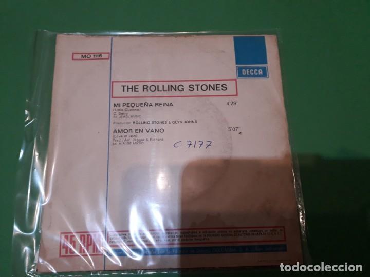 Discos de vinilo: the rolling stones - mi pequeña reina promo - Foto 2 - 196386433