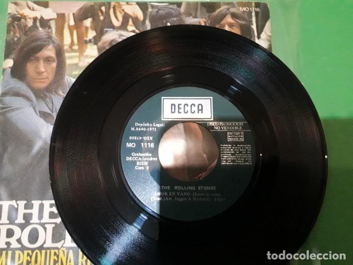 Discos de vinilo: the rolling stones - mi pequeña reina promo - Foto 3 - 196386433