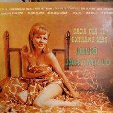 Discos de vinilo: LP JULIO JARAMILLO CADA DÍA TE EXTRAÑO MÁS VENEVOX VENEZUELA. Lote 196453277