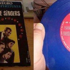 Discos de vinilo: THE STAPLE SINGERS - I'M SO GLAD 1960 - RARO EP 4 TEMAS - VINYL AZUL, ORG EDT SPAIN, EX. Lote 196455013