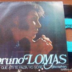 Discos de vinilo: BRUNO LOMAS - LO QUE A TI TE FALTA - YO SOÑE - SINGLE VINILO - FREAKBEAT MOD SOUL. Lote 196455218