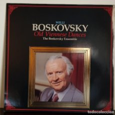 Discos de vinilo: WILLI BOSKOVSIKY - OLD VIENNESE DANCES - MADE IN ITALY. Lote 196457851