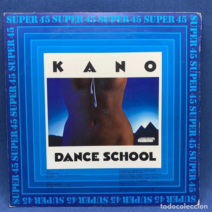 Discos de vinilo: SUPER SINGLE - MAXI SINGLE KANO – ANOTHER LIFE – ESPAÑA – AÑO 1983 - Foto 2 - 196458070