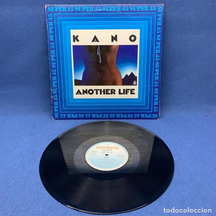 Discos de vinilo: SUPER SINGLE - MAXI SINGLE KANO – ANOTHER LIFE – ESPAÑA – AÑO 1983 - Foto 3 - 196458070