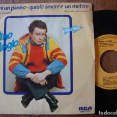 Discos de vinil: PINO D´AGIO - FAMMI UN PANINO. Lote 196475008
