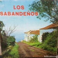 Discos de vinilo: LOS SABANDEÑOS - REGISTROS SONOROS TAM TAM RARO SINGLE EP 1967 - CANARIAS FOLKLORE - NUEVO. Lote 196479997