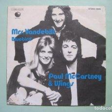 Discos de vinilo: THE BEATLES - PAUL MCCARTNEY - SINGLE MRS. VANDEBILT (EDICIÓN ESPAÑOLA). Lote 196490708