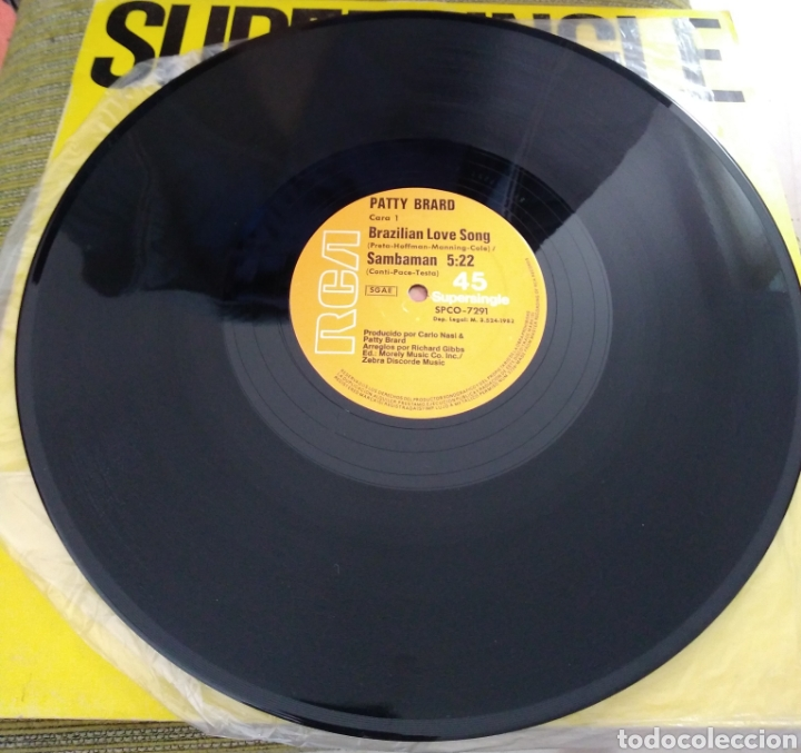Discos de vinilo: Patty Brard - Brazilian Love song - Foto 2 - 196509841