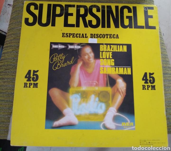PATTY BRARD - BRAZILIAN LOVE SONG (Música - Discos de Vinilo - Maxi Singles - Funk, Soul y Black Music)