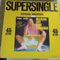 Discos de vinilo: PATTY BRARD - BRAZILIAN LOVE SONG. Lote 196509841