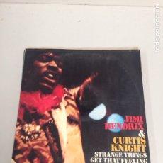 Discos de vinilo: JIMMY HENDRIX STRANGE THINGS GET THAT FEELING.. Lote 196518095