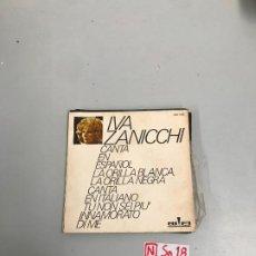 Discos de vinilo: IVA ZANICHI. Lote 196526447
