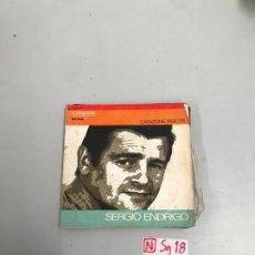 Discos de vinilo: SERGIO ENDRIGO. Lote 196526505