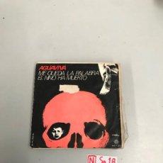 Discos de vinilo: AGUAVIVA. Lote 196526942