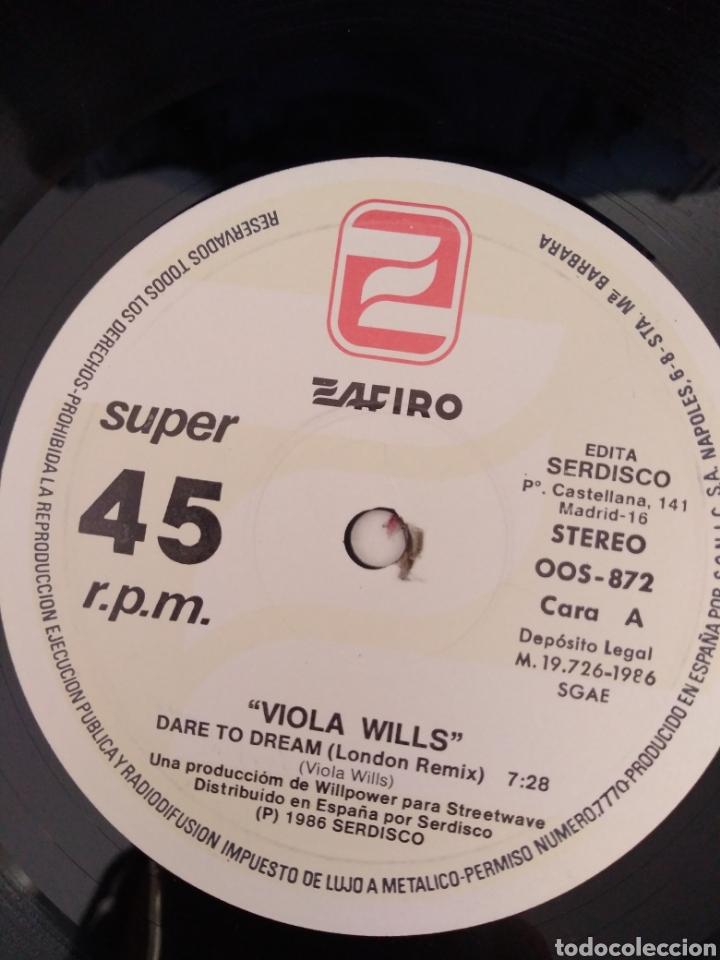 Discos de vinilo: Viola Wils - Dare to dream - Foto 2 - 196545085