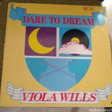 Discos de vinilo: VIOLA WILS - DARE TO DREAM. Lote 196545085