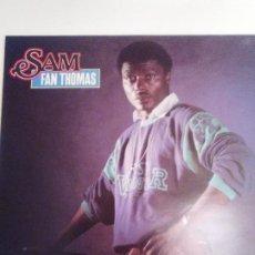 Discos de vinilo: SAM FAN THOMAS ( 1985 MST RECORDS FRANCE ) AFRICA EXCELENTE ESTADO. Lote 196546018