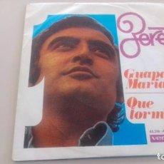 Discos de vinilo: LOTE B-DISCO VINILO SINGLE PERET RUMBAS. Lote 269213033