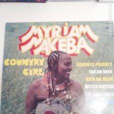 Discos de vinilo: MIRIAM MAKEBA COUNTRY GIRL ( 1978 SONO DISC FRANCE ) AFRICA HUGH MASEKELA. Lote 196546155
