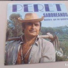 Discos de vinilo: LOTE B-DISCO VINILO SINGLE PERET RUMBAS. Lote 269213183