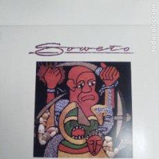 Discos de vinilo: SOWETO ( 1985 ROUGH TRADE RECORDS GERMANY ) AFRICA EXCELENTE ESTADO. Lote 196546488