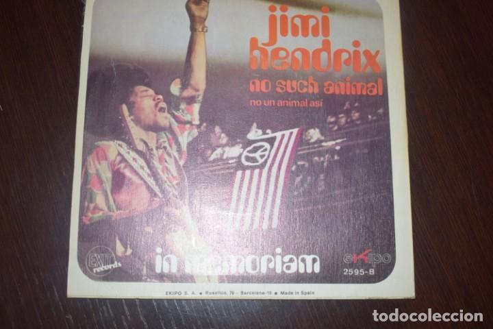 JIMI HENDRIX-NO UN ANIMAL ASI PROMO (Música - Discos - Singles Vinilo - Heavy - Metal)
