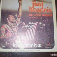 Discos de vinilo: JIMI HENDRIX-NO UN ANIMAL ASI PROMO. Lote 196549501