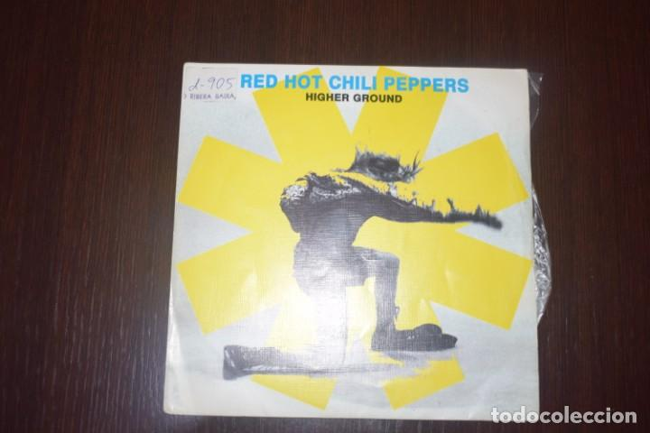 RED HOT CHILI PEPPERS-HIGHER GROUND PROMO (Música - Discos - Singles Vinilo - Heavy - Metal)