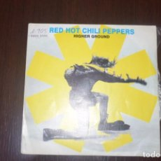 Discos de vinilo: RED HOT CHILI PEPPERS-HIGHER GROUND PROMO. Lote 196549841