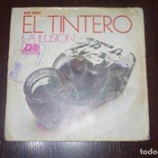 Disques de vinyle: LED ZEPPELIN EL TINTERO DYER MAKER SPANISH SINGLE HEAVY 1973. Lote 196550055