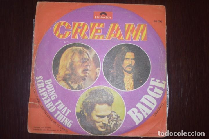 Discos de vinilo: Cream. Badge/ Doing that scrapyard thing - Foto 2 - 196550430
