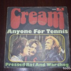 Discos de vinilo: CREAM -SINGLE ANYONE FOR TENNIS. Lote 196550563