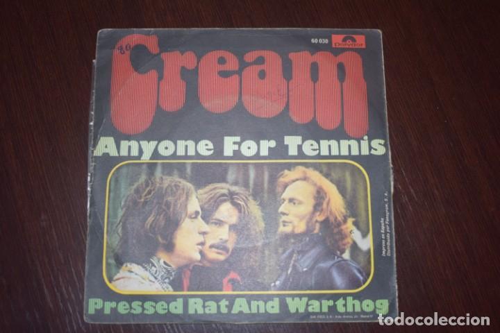 Discos de vinilo: CREAM -single ANYONE FOR TENNIS - Foto 2 - 196550563