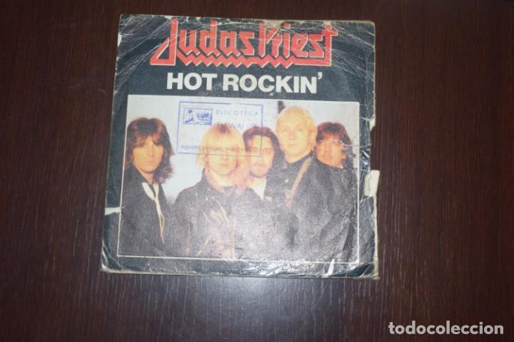 JUDAS PRIEST - HOT ROCKIN' (Música - Discos - Singles Vinilo - Heavy - Metal)