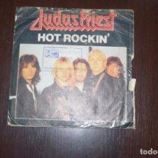 Discos de vinilo: JUDAS PRIEST - HOT ROCKIN' . Lote 196551617