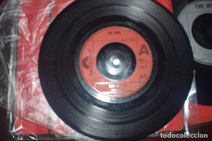 Discos de vinilo: THE WHO BABA ORILEY DONT KNOW MYSELF 3 singels - Foto 3 - 196552386