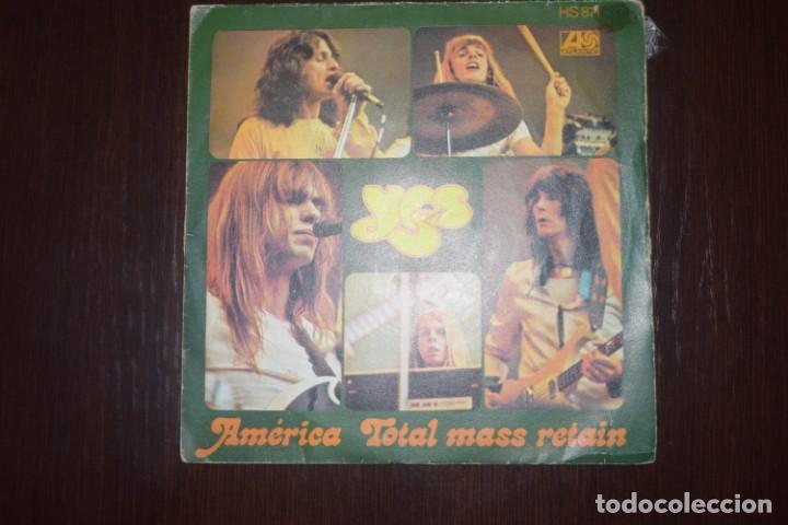 YES AMERICA (Música - Discos - Singles Vinilo - Heavy - Metal)