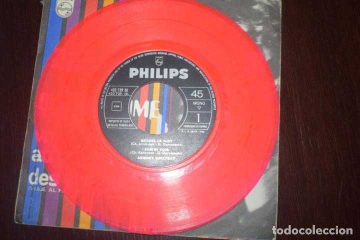 Discos de vinilo: Johnny Hallyday yo te amo dos singels - Foto 2 - 196552902