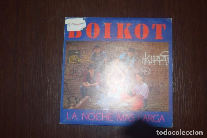 BOIKOT LA NOCHE MAS LARGA (Música - Discos - Singles Vinilo - Heavy - Metal)