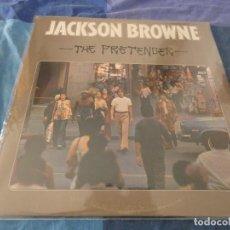 Discos de vinilo: LP EDICION USA AÑOS 70 JACKSON BROWNIE THE GREAT PRETENDER BIEN DE PORTADA BIEN DE VINILO. Lote 213207152