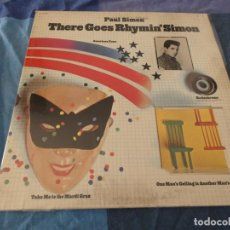 Discos de vinil: LP EDICION USA AÑOS 70 PAUL SIMON THERE GOES RHYMN´SIMON BIEN PORTADA BIEN VINILO. Lote 196589196