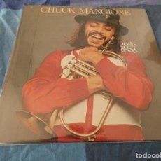 Discos de vinil: LP EDICION USA CHUCK MANGIONE FEELS SO GOOD BIEN DE PORTADA BIEN DE VINILO . Lote 196589576