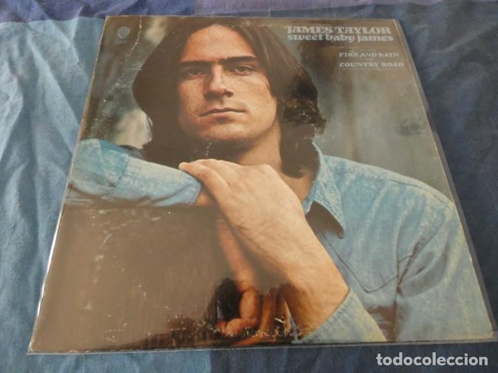 LP USA 1972 JAMES TAYLOR SWEET BABY JAMES PORTADA CORRECTA DISCO BIEN (Música - Discos de Vinilo - EPs - Pop - Rock Extranjero de los 70)