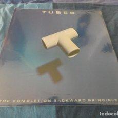 Discos de vinil: LP USA 1980 THE TUBES THE COMPLETION BACKWARD PRINCIPLE PORTADA Y DISCO MUY BIEN. Lote 196590635