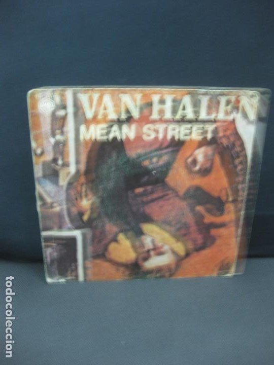 VAN HALEN. MEAN STREET. SINGLE 1981. HISPAVOX 45-2117 (SN) (Música - Discos - Singles Vinilo - Heavy - Metal)