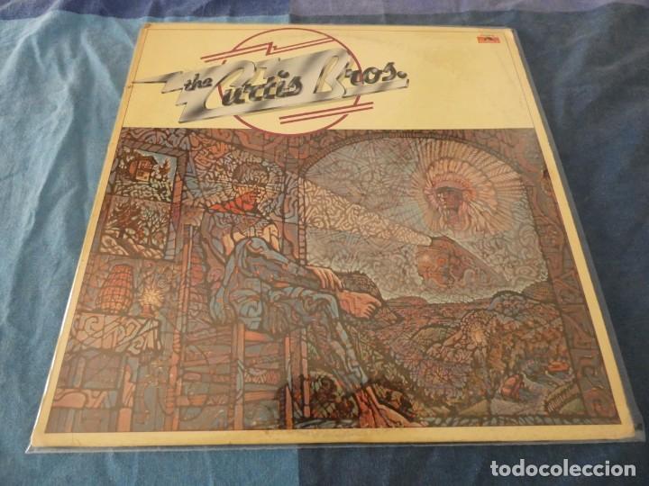 LP USA 1976 WHITE LABEL PROMO THE CURTIS BROS. S/T LP POLYDOR PD-1-6076 BUEN ESTADO (Música - Discos de Vinilo - EPs - Pop - Rock Internacional de los 70)
