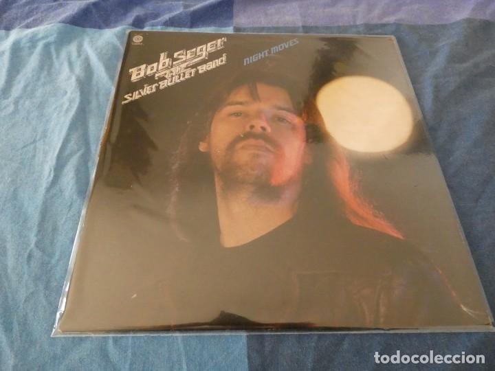 LP USA 1978 BOB SEGER AND THE SILVER BULLET BAND NIGHT MOVES PORTADA Y DISCO MUY BUEN ESTADO (Música - Discos de Vinilo - EPs - Pop - Rock Extranjero de los 70)