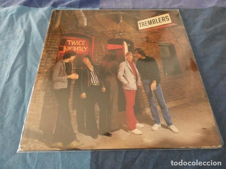 LP RARO PUB ROCK THE TREMBLERS TWICE NIGHTLY USA 1980 BUEN ESTADO (Música - Discos de Vinilo - EPs - Pop - Rock Extranjero de los 70)