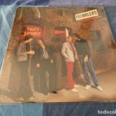 Discos de vinil: LP RARO PUB ROCK THE TREMBLERS TWICE NIGHTLY USA 1980 BUEN ESTADO. Lote 196594151